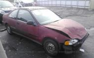 1993 HONDA CIVIC DX #1285444111