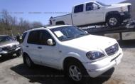 2000 MERCEDES-BENZ ML 320 #1324264194