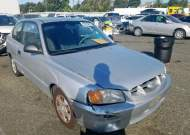 2002 HYUNDAI ACCENT GS #1390710694
