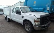 2008 FORD F350 SRW SUPER DUTY #1476136057