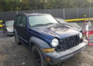 2005 JEEP LIBERTY SP #1604093874