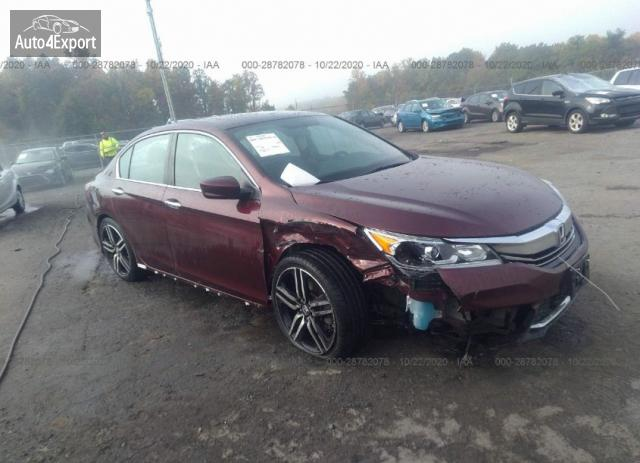2016 HONDA ACCORD SEDAN SPORT #1636934764