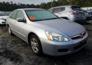 2006 HONDA ACCORD SE #1637111191