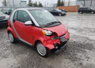 2009 SMART FORTWO PUR #1639049677