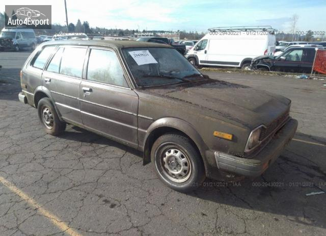 1982 HONDA CIVIC DELUXE #1644662714