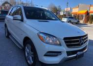 2012 MERCEDES-BENZ ML 350 4MA #1650196244