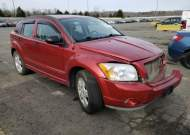2007 DODGE CALIBER SX #1654004324