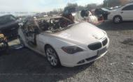 2006 BMW 6 SERIES 650CI #1657695471
